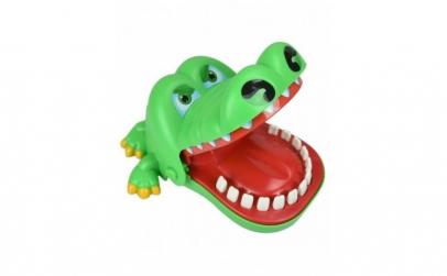 Jucarie crocodil dentist, verde, Gonga