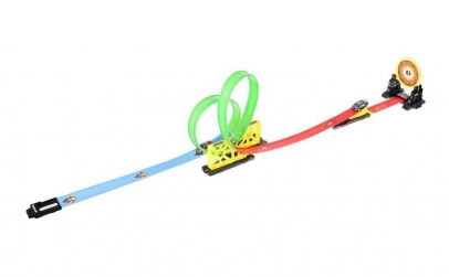 Circuit cu lansator si masinuta