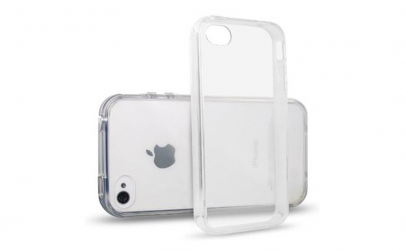 husa silicon transparenta Iphone 4/4S