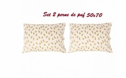 Set 2 pene 50 x 70 cm - cu puf