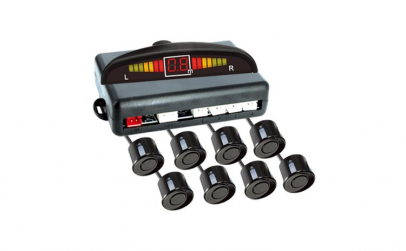 Set senzori de parcare fata-spate cu 8