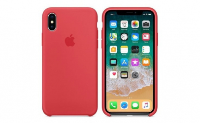 Husa iPhone X Red Raspberry