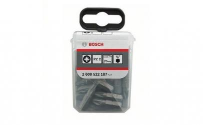 Set 25 Biti Bosch Extra Dur, Pz2, 25 Mm