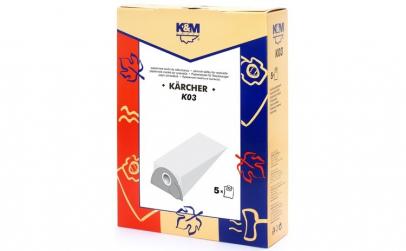 Sac aspirator KARCHER 2101, hartie, 5X
