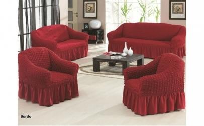 Set 3 Huse canapea - culori diverse
