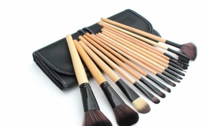 Set 15 pensule make-up + borseta