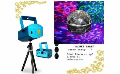Pachet disco: Laser Disco + Glob disco
