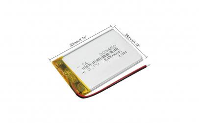 303450 Acumulator Li-Po - 3,7 V - 600mah