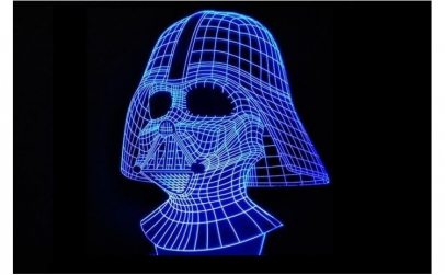 Lampa led Darth Vader STAR WARS