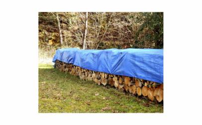 Prelata albastra, 4 x 5 m
