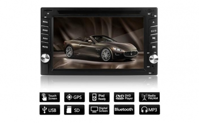CD-DVD - player auto cu GPS