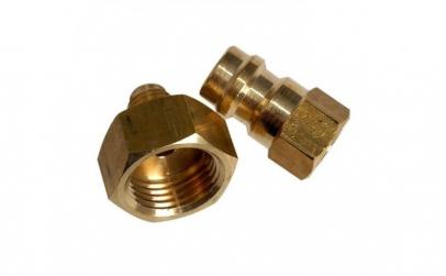 Set 2 adaptoare butelie freon R134A
