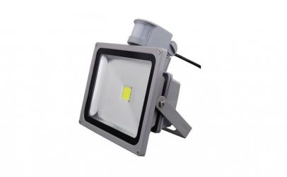 Proiector LED Exterior 30W Senzor