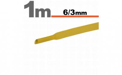 Tub termocontractibilGalben • 6 / 3 mm