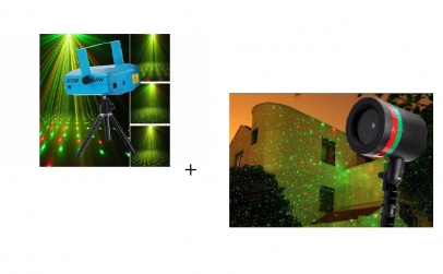 Proiector laser + mini proiector