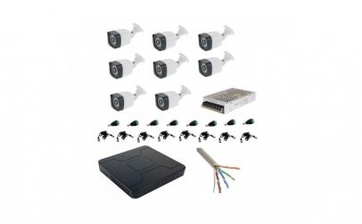 Kit complet 8 camere supraveghere