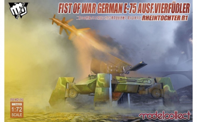 1:72 Fist of War German WWII E75