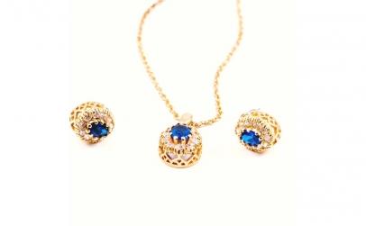Set bijuterii din Inox auriu