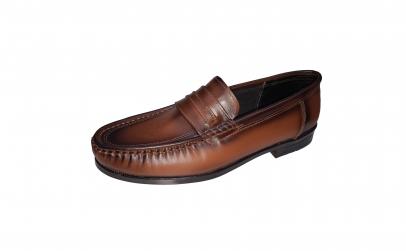 Pantofi-mocasini din piele naturala