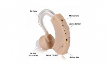 Aparat auditiv profesional, 3 baterii