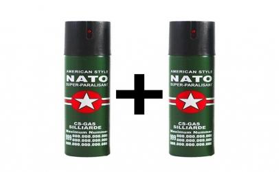 Set 2 Spray-uri Nato pentru autoaparare