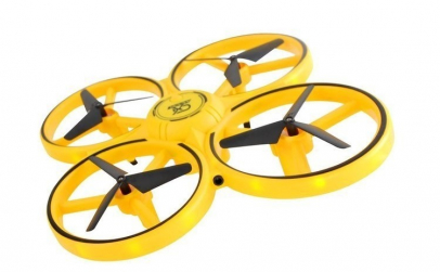 Drona Elicopter cu Inductie