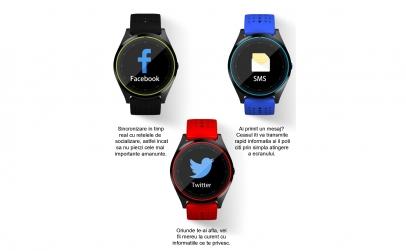 Ceas smartwatch V9 Bluetooth