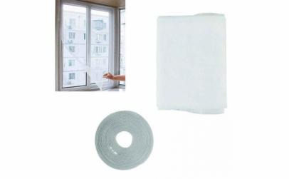 Plasa anti-insecte pentru geam, 130 x 15