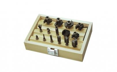 Set freze pentru lemn Mannesmann M54515,