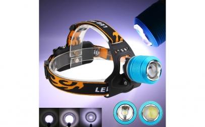Lanterna frontala cu acumulator