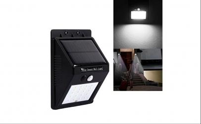 Bec LED cu incarcare solara