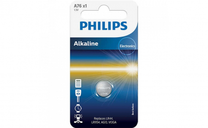 Baterie Philips Alkaline A76/01B, 1.5V