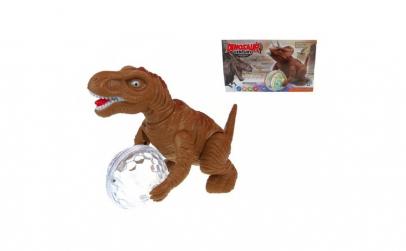 Dinozaur cu sunete, lumini si miscari,