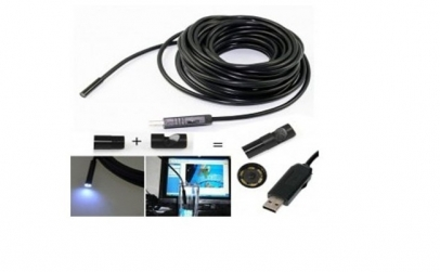 Camera video endoscopica cu USB 10m