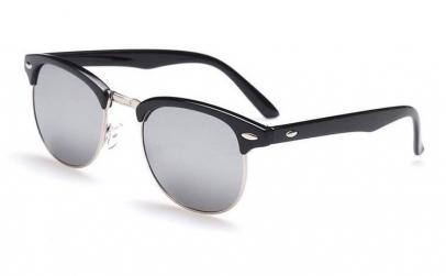 Ochelari de soare Clubmaster Retro Gri