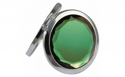 Oglinda de poseta, cristal decorativ