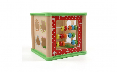 Cub educativ Montessori 4 in 1