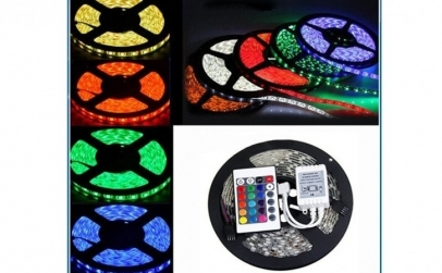 Kit banda LED RGB de interior