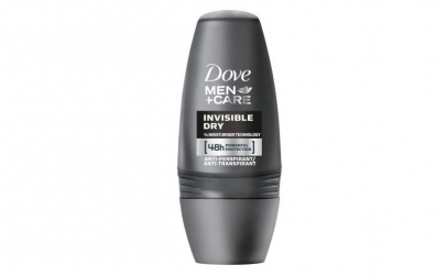 Antiperspirant roll on Dove Men Invisibl
