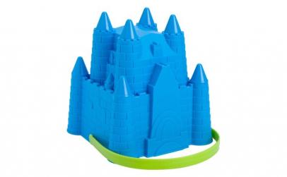 Galetusa pentru plaja, model castel,