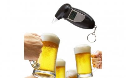 Alcool tester cu afisaj digital