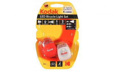 Set semnalizatoare bicicleta cu LED