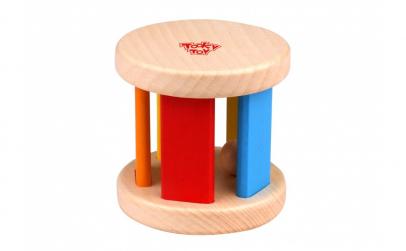Jucarie roller din lemn Tooky Toy