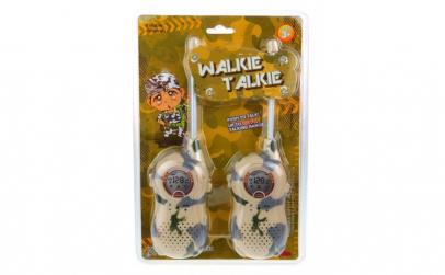 Set 2 buc walkie talkie model army