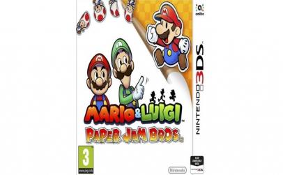 Joc Mario & Luigi Paper Jam pentru
