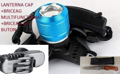 Pachet lanterna pentru cap