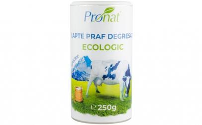 Lapte praf Bio degresat, 1% grasime,