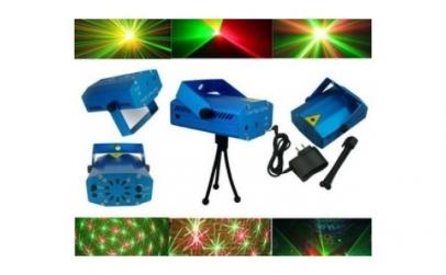Proiector laser cu imagini de sarbatori