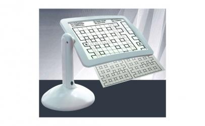 Lupa multifunctionala cu LED si stativ