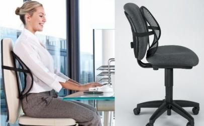 Set 2 x perna lombara pentru scaun